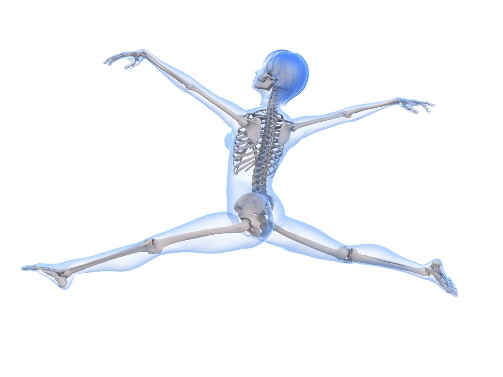 Healthy Woman Bones