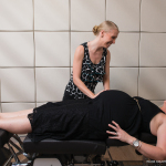 Insight Chiropractors with a pregnant patient