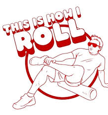 Foam Rollers cartoon image