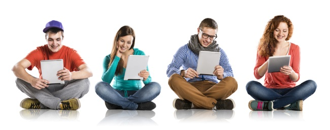 Teens with Tablets